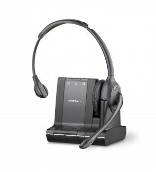 Plantronics Savi 710 3-in-1 Monaural Over the Head Wireless Headset