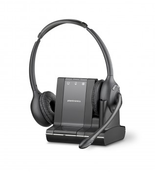 Plantronics Savi 720 Binaural 3-in-1 Wireless Headset